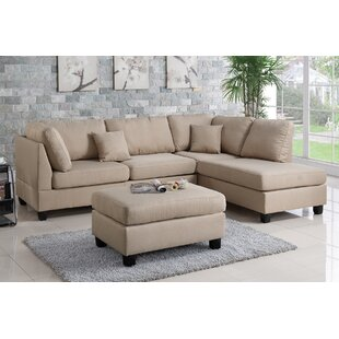 ll wayfair couch with grey sectional furniture ottoman reversible sectionals hemphill you love