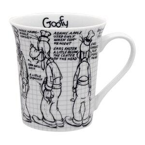 Disney Sketchbook 14 oz. Goofy Mug (Set of 4)