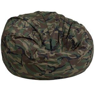 Camouflage Lightweight Kids Bean Bag Chair