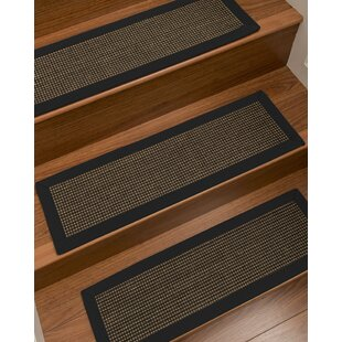 Badgley Custom Sisal Stair Tread (Set Of 13)