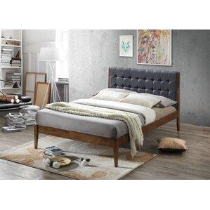 clemente wood platform bed