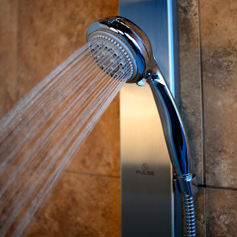 Aloha Diverter Rain Shower Head Complete Shower System