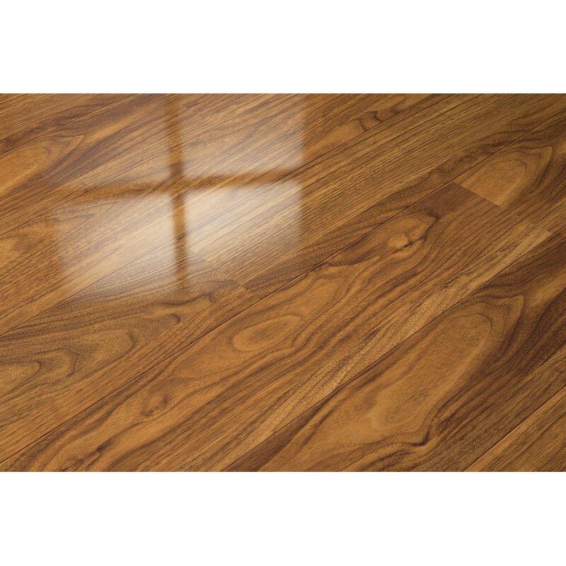 Elesgo Floor Usa 7 X 51 X 9mm Walnut Laminate Flooring In Tan