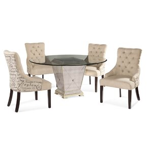 Roehl 5 Piece Dining Set by Willa Arlo Interiors