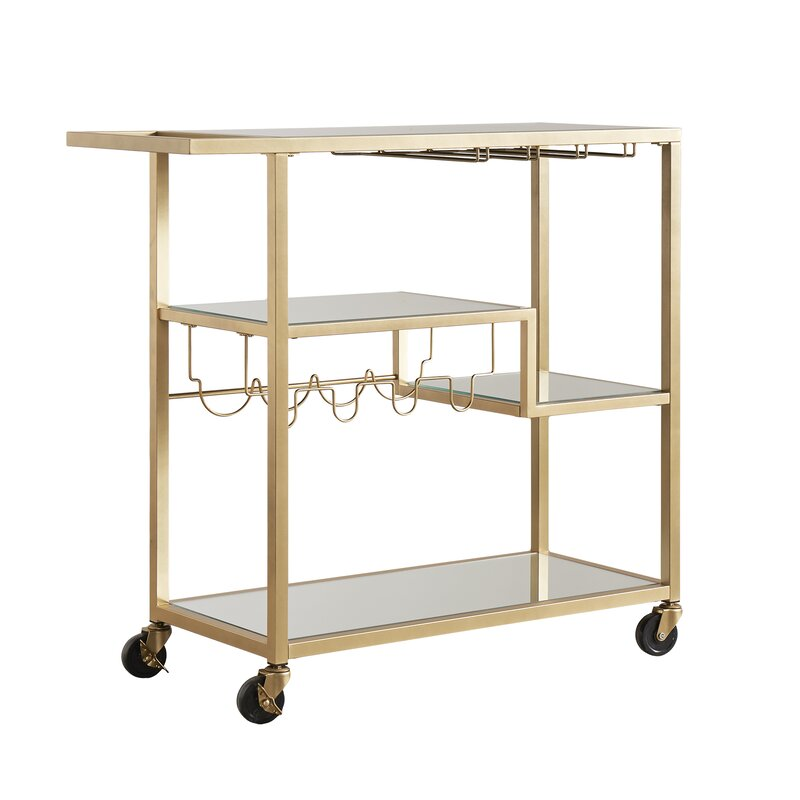 willa arlo interiors tibo bar cart reviews wayfair