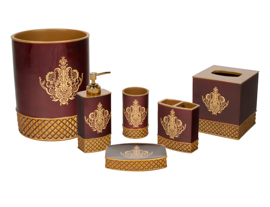 China Art 6 Piece Bathroom Accessory Set Home Design Ideas
