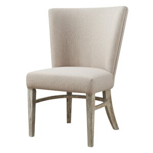 Sidney Rustic Upholstered Dining Chair (S..