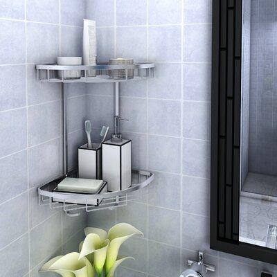 Rebrilliant Patricia Aluminum Shower Caddy | Wayfair