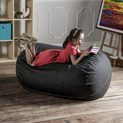 Etonnant Denim 4u0027 Bean Bag Lounger