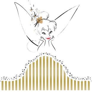 Popular Characters Disney Fairies Tinkerbell Headboard Giant Wall Decal
