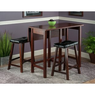 Bettencourt 3 Piece Counter Height Dining Set