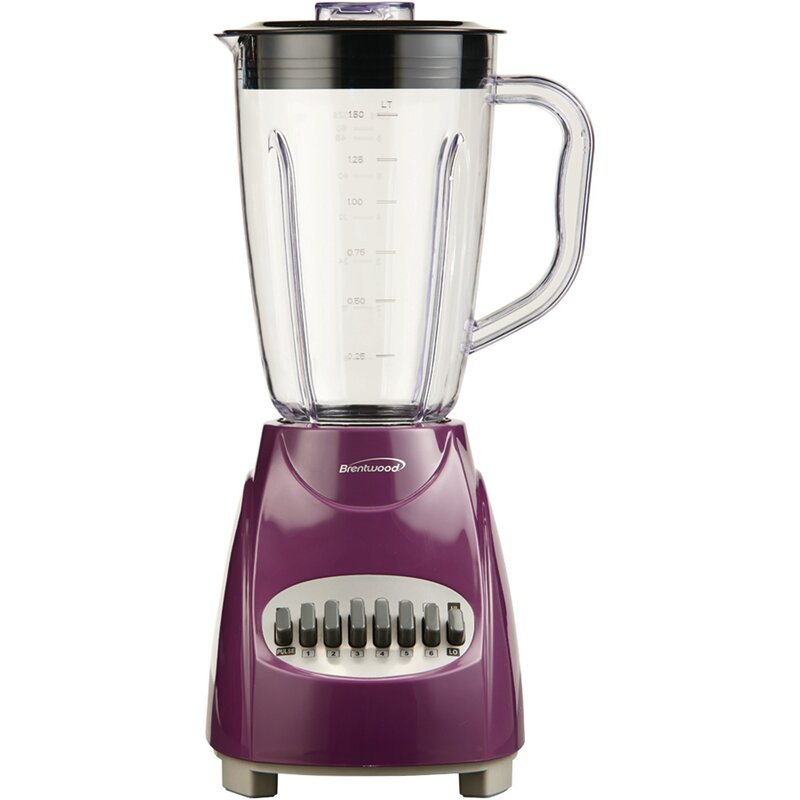 Brentwood  Appliances 12 Speed Blender with Plastic Jar