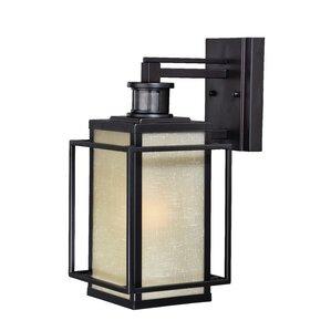 hyde park dualux 1light outdoor wall lantern