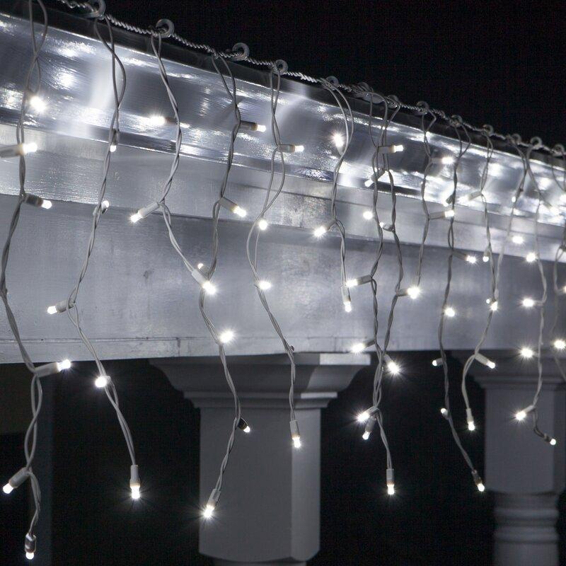 70 Light Christmas Led Icicle Lights