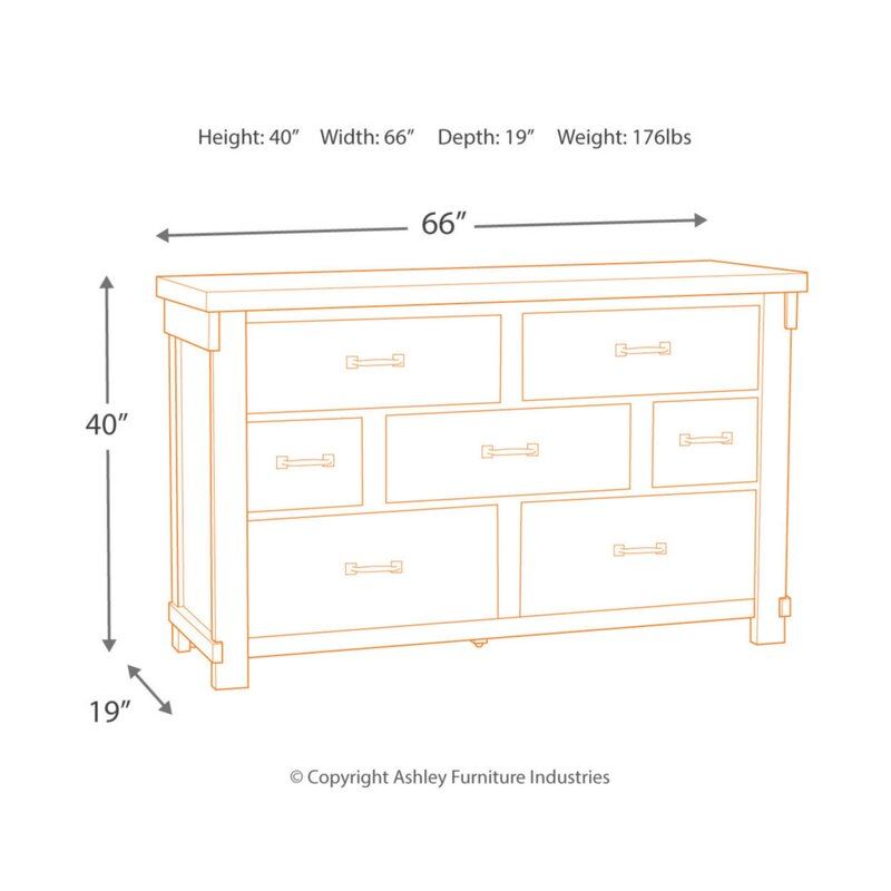 Rovner 7 Drawer Dresser