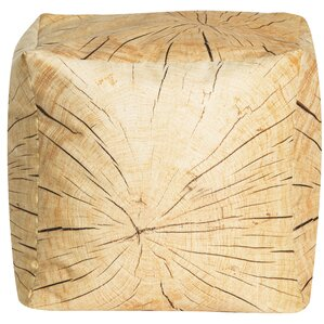 Tree Cube Pouf Ottoman by Sitting Point