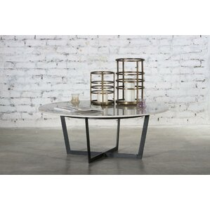 Raymond Marble Top Coffee Table by Everly Quinn