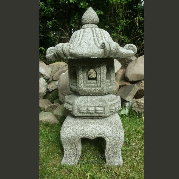 Japanese Stone Garden Pagoda | Wayfair.co.uk