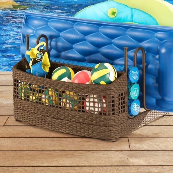Outdoor Pool Float Storage | Wayfair