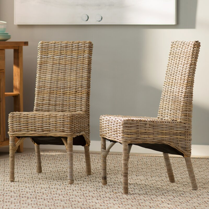 Beachcrest Home Yorkshire Schooner Solid Wood Dining Chair
