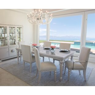 Glimmering 7 Piece Dining Set. By Michael Amini