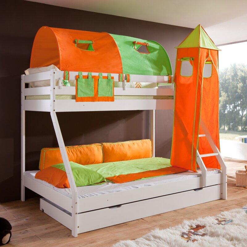 relita l f rmiges etagenbett beni mit rutsche 90 x 200 cm bewertungen. Black Bedroom Furniture Sets. Home Design Ideas