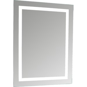 lighted and illuminated makeup mirror