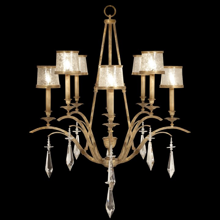 Monte Carlo 8-Light Candle-Style Chandelier