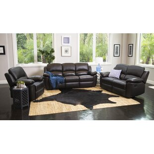 Leather Living Room Sets You\'ll Love in 2019 | Wayfair