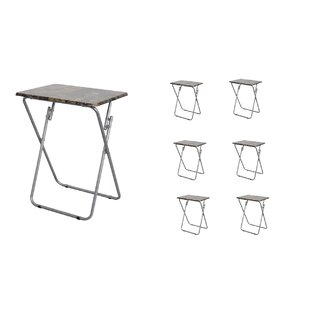 Folding TV and Snack Tray Table (Set of 6)  sc 1 st  Wayfair & Stacking Snack Tables | Wayfair