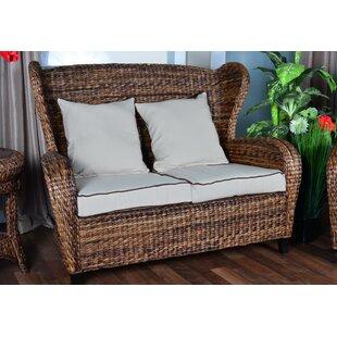 Indoor Rattan Sofa   Wayfair