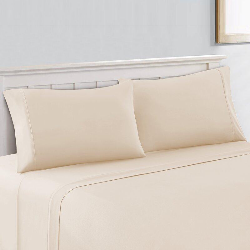 Color Sense Cool Touch 400 Thread Count 100 Cotton Sheet Set Reviews Wayfair