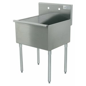 400 Series Single 1 Compartment Floor Service Sink