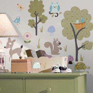 Studio Designs Woodland Animals Wall Decal