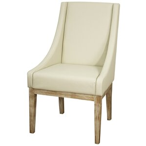 Houston Genuine Leather Upholstered Dining Chair by New Pacific Direct