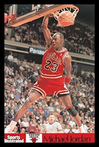 Buy Art For Less Michael Jordan Sports Illustrated Dunk Framed