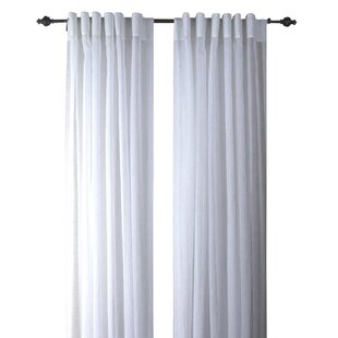 Back Tab Curtains