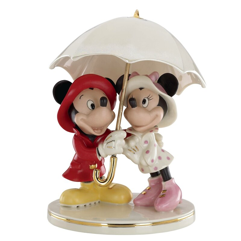 Lenox Disney S Mickey And Minnie Singing In The Rain