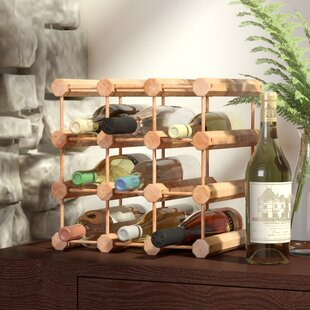 Kitterman 12 Bottle Floor Wine Rack