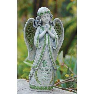 Garden Irish Angel Statue