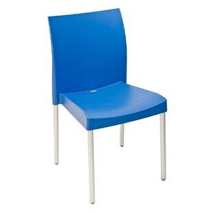 Blue Armless Chair   Wayfair