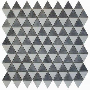 Diamantes 0 38 X Marble Mosaic Tile In White Bardiglio