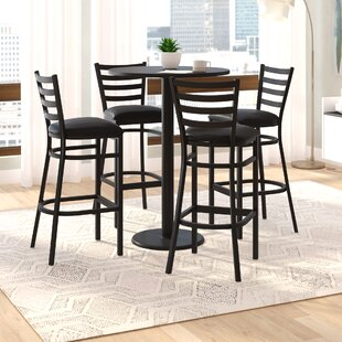 Turcios 5 Piece Pub Height Dining Set
