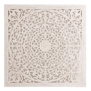 Carved Wooden Wall Art Panel Wayfair Co Uk