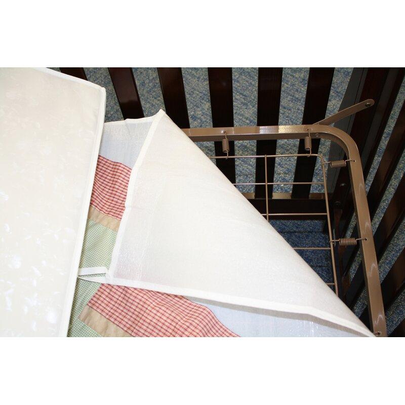 Colgate Crib Mattress and Dust Ruffle Protector   Wayfair