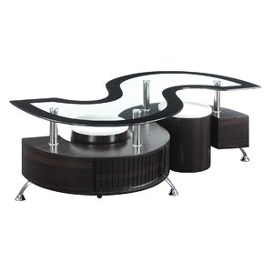 Glass Coffee Table Sets Youll Love Wayfair