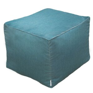 Adamstown Contemporary Outdoor/Indoor Pouf Ottoman by Beachcrest Home