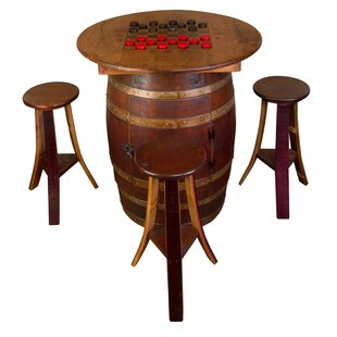 Whiskey Barrel 5 Piece Dining Set