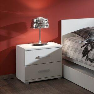 Nachttisch Portree mit 2 Schubladen von Home Etc