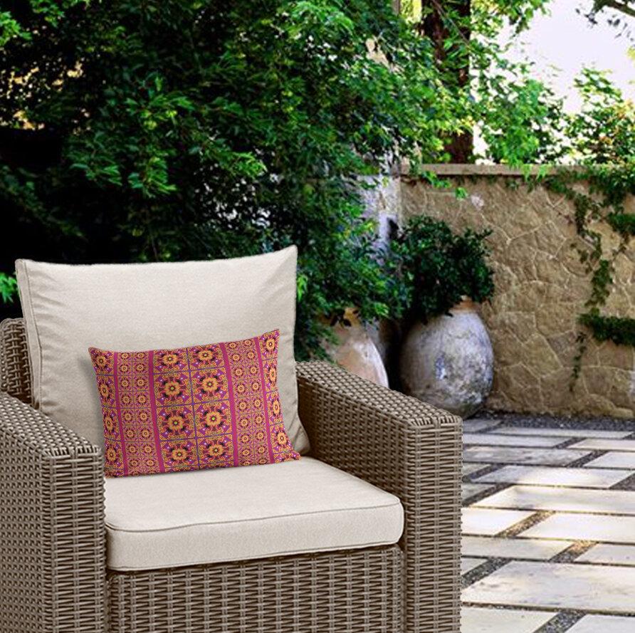 Bungalow Rose Georgeanna Outdoor Lumbar Pillow | Wayfair